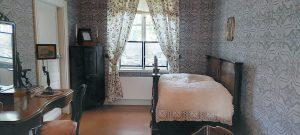 Sibeliuksen syntymäkodin makuuhuone