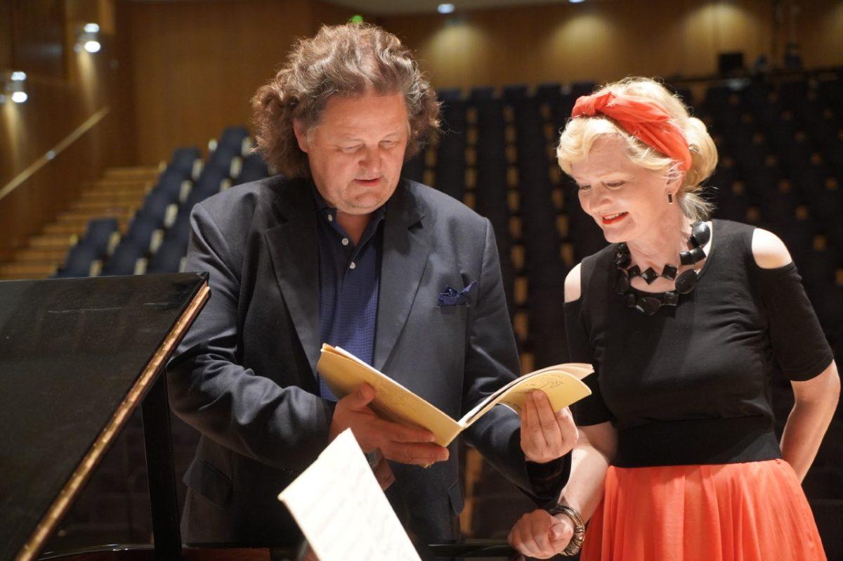 Eilamaria Leskinen ja Jouni Somero