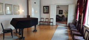 Sibeliuksen syntymäkodin sali
