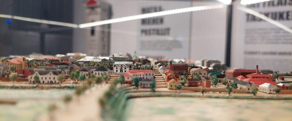 Hämeenlinnan kaupungin pienoismalli Ooh, Hämeenlinna -näyttelyssä